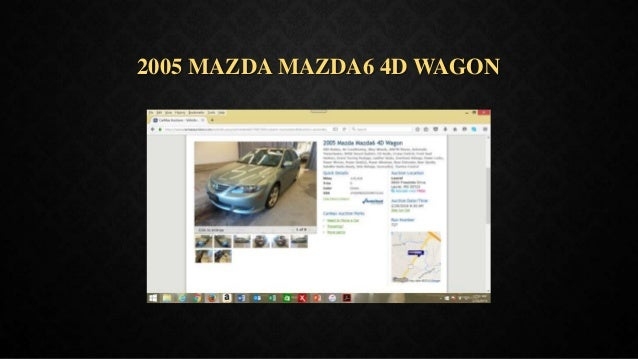 2005 MAZDA MAZDA6 4D WAGON