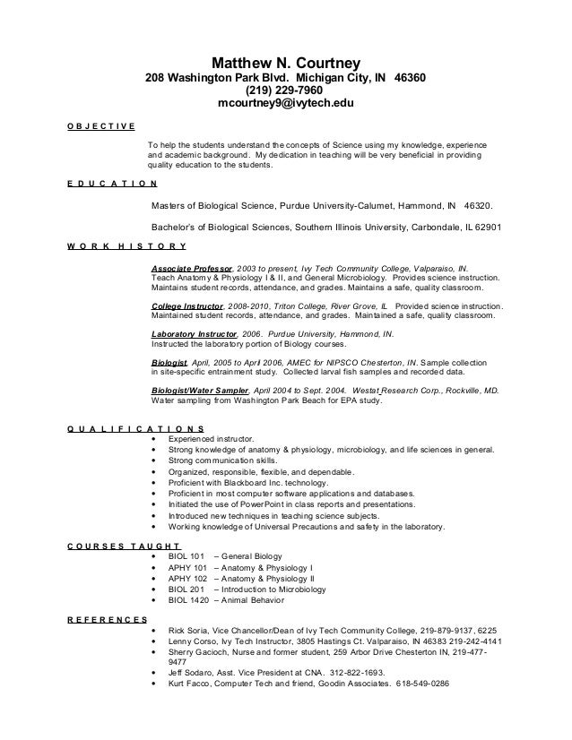 Chicago Resume 2014