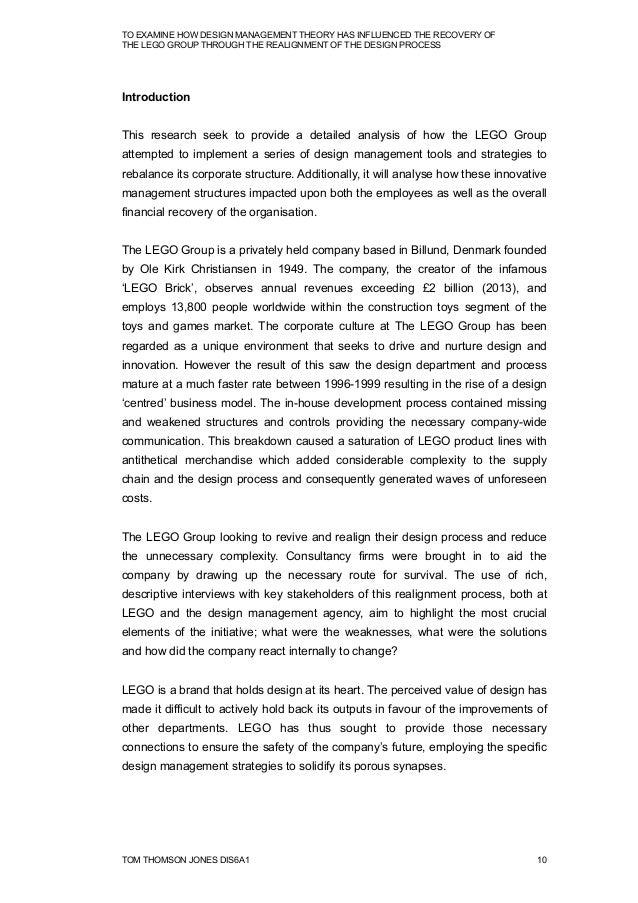 Design management essay