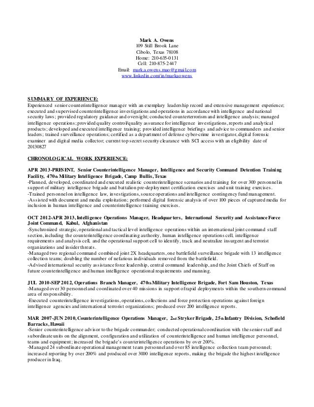 mark owens jpmorgan chase resume