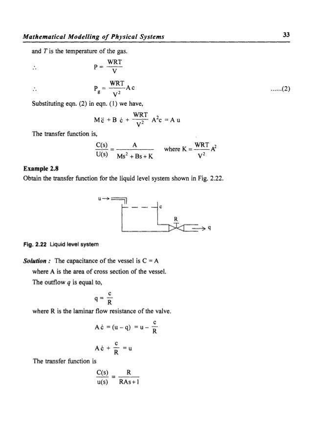 liquid level control system example