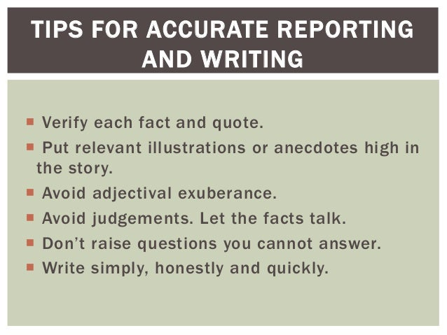 dspc news writing and reporting