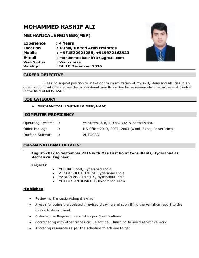 kashif cv pdf