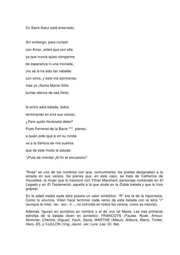 8186 Poesias De Francois Villon