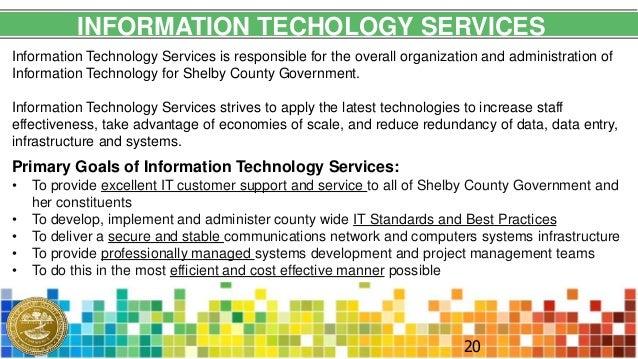 Information Technology Services : Information technology services v