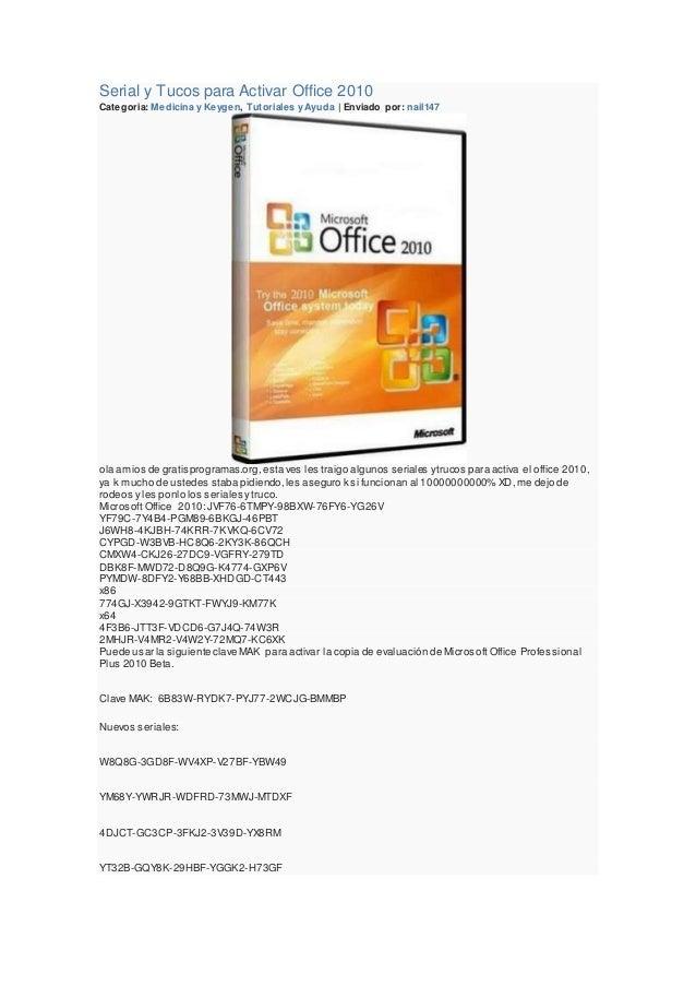 pacote office 2010 gratis em portugues com serial
