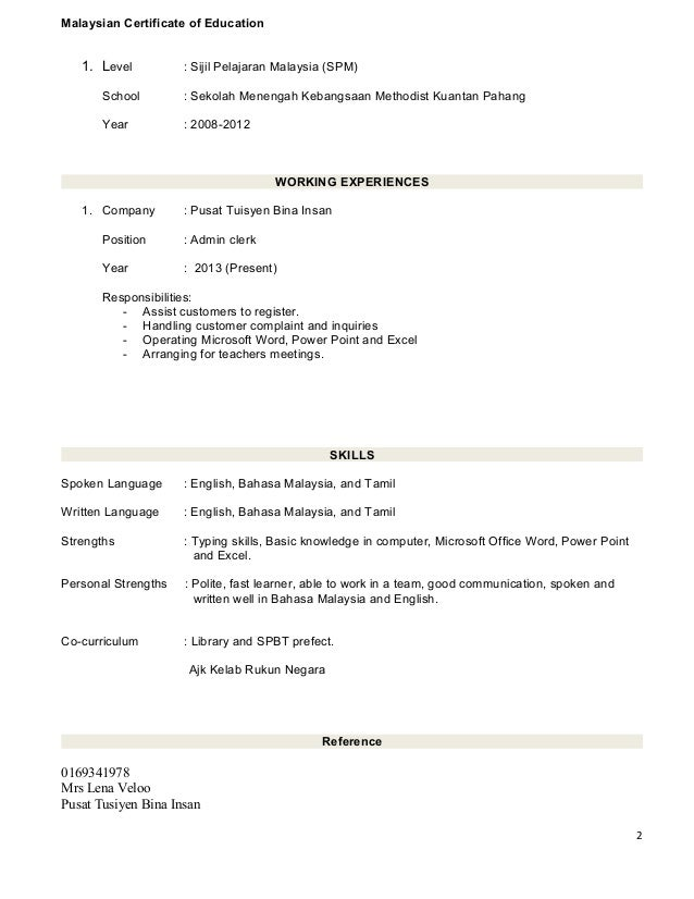 Resume Cover Letter Sample Malaysia Mint Tutors Essays College