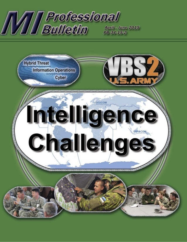 Subscriptions: Free unit subscriptions are available by emailing the Editor at usarmy.huachuca.icoe.mbx.doctrine@mail.mil....