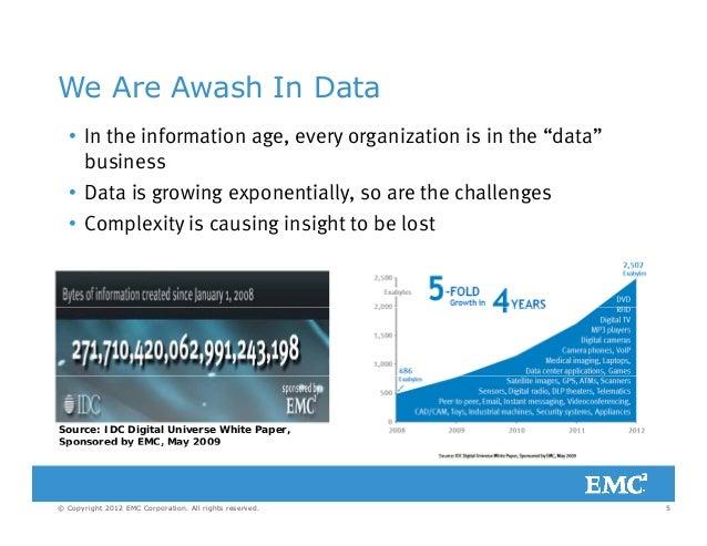 DAMA Big Data & The Cloud 2012-01-19