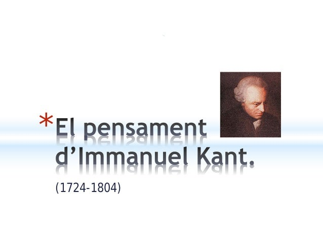 (1724-1804) *