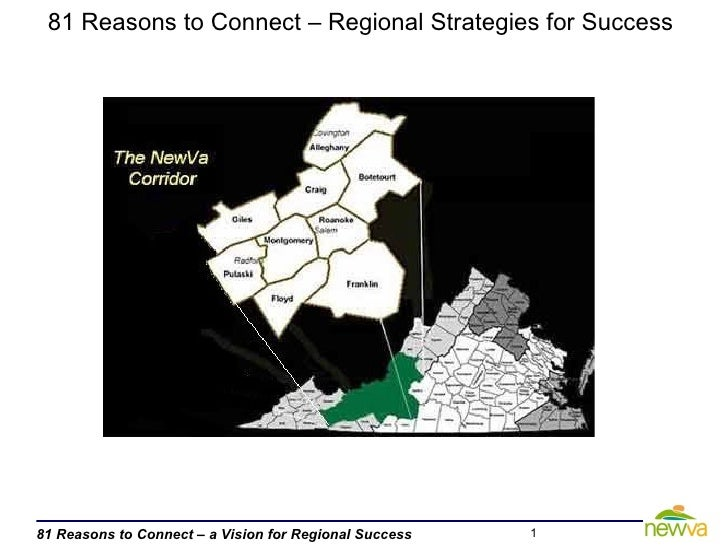 81 Reasons to Connect – Regional Strategies for Success