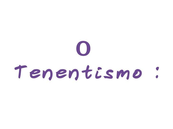 O  Tenentismo :