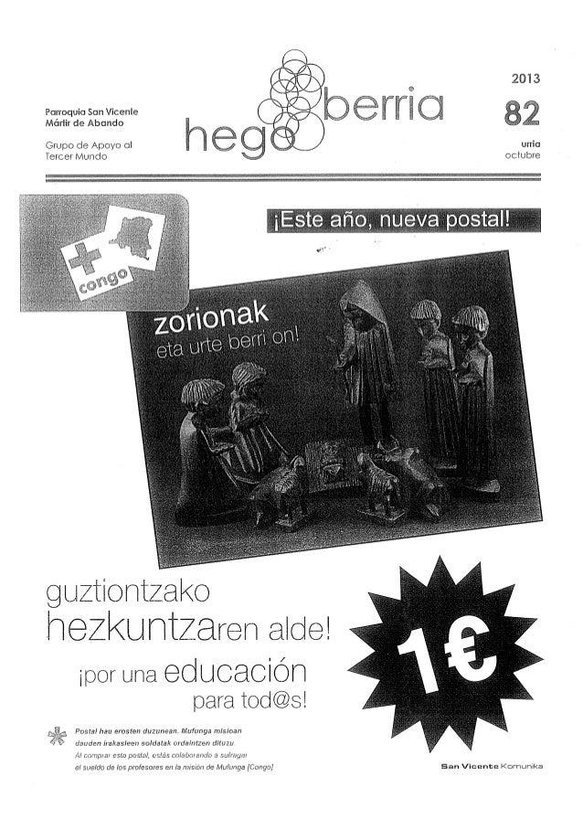 Parroquia San Vicente Mártir de Abando     Grupo de Apoyo ol Tercer Mundo         heZKUHlZaren alde!   ¡por una educación ...