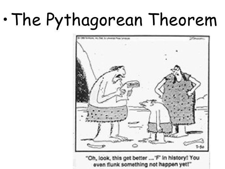 <ul><li>The Pythagorean Theorem </li></ul>