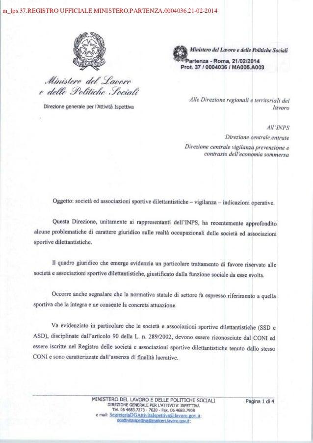 m_lps.37.REGISTRO UFFICIALE MINISTERO.PARTENZA.0004036.21-02-2014