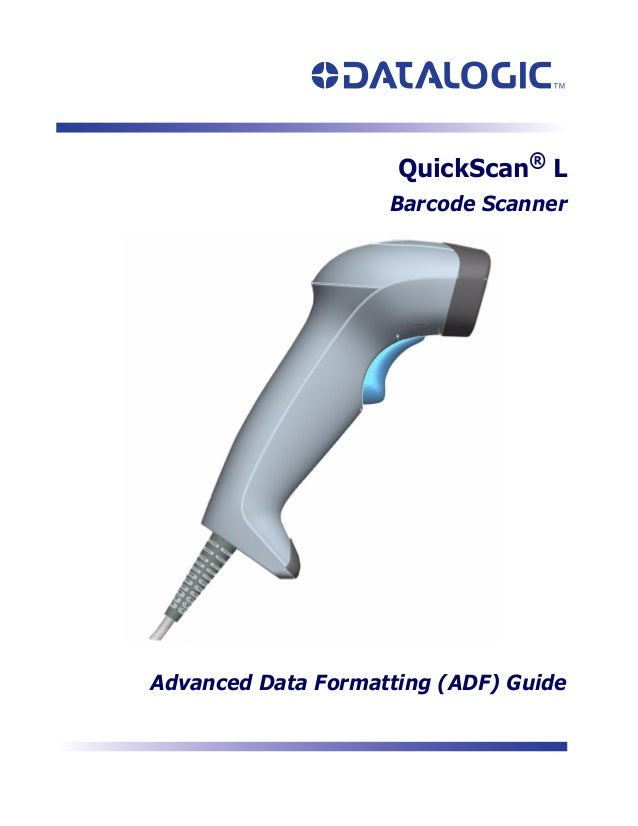 Manual do Leitor Datalogic QuickScan