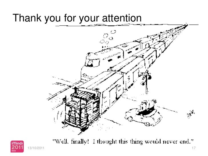 Thank you for your attention   13/10/2011                  17