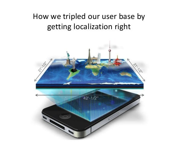 How we tripled our user base by   getting localization right