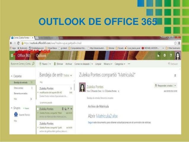 OUTLOOK DE OFFICE 365
