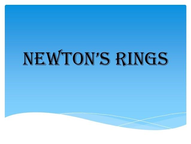 8202 19642 newton ring