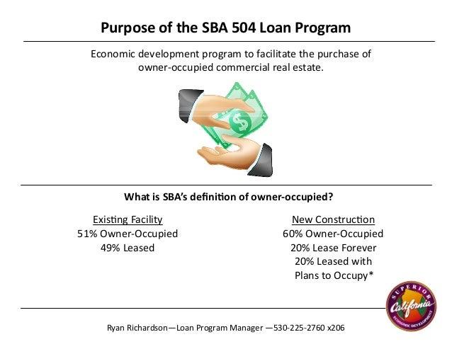 sba financing