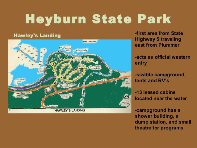 A Case Study Of Heyburn State Park