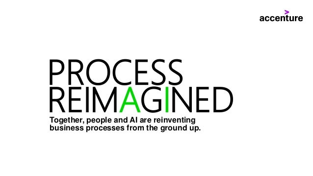 PROCESS REIMAGINEDTogether, people and AI are reinventing business processes from the ground up.