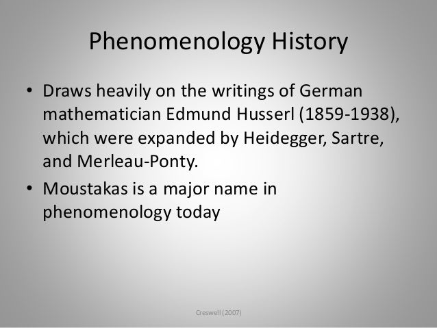 phenomenology as a research method
