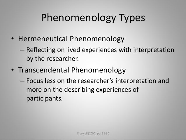 phenomenological