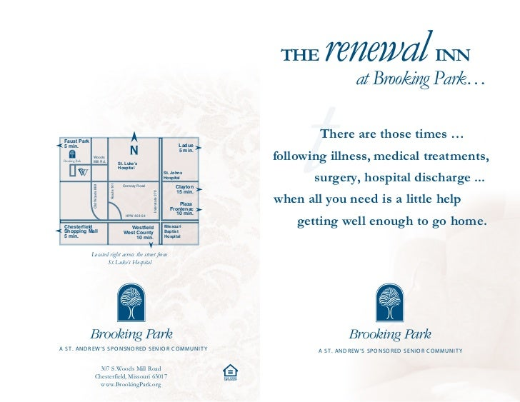 THE     renewal Park…                   INN                                                                               ...