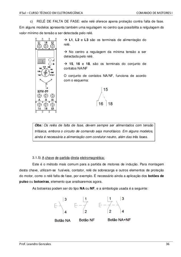 Apostila Comandos Elétricos - Prática CEFET 72c73aa499c82