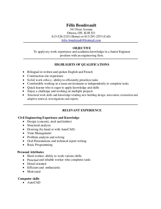 Example BS In Electrical Engineering Special Attribute A Detailed Skills  Section With  Work Skills For Resume