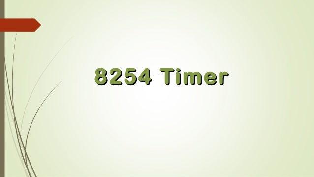 8254 Timer8254 Timer