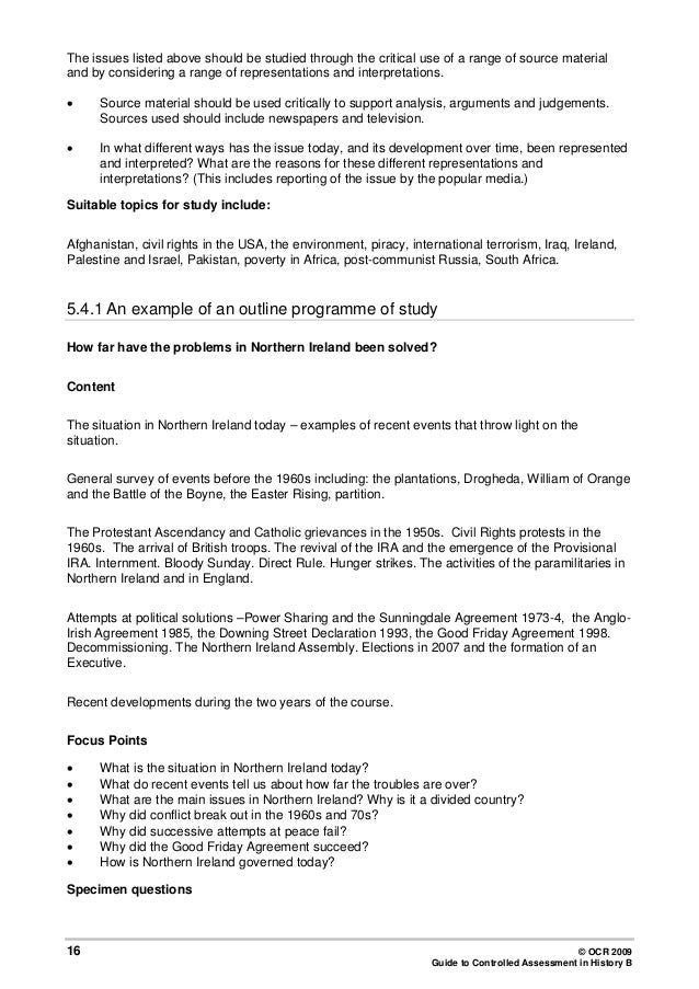 history controlled assessment essay History: question papers: file: description: finale - geskiedenis vraestel 1 - model 2007: finale - geskiedenis vraestel 1 addendum - model 2007: final .