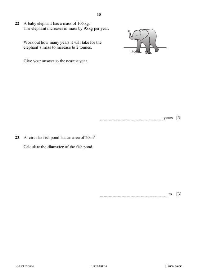 82736 maths-specimen-paper-2-2014-2017