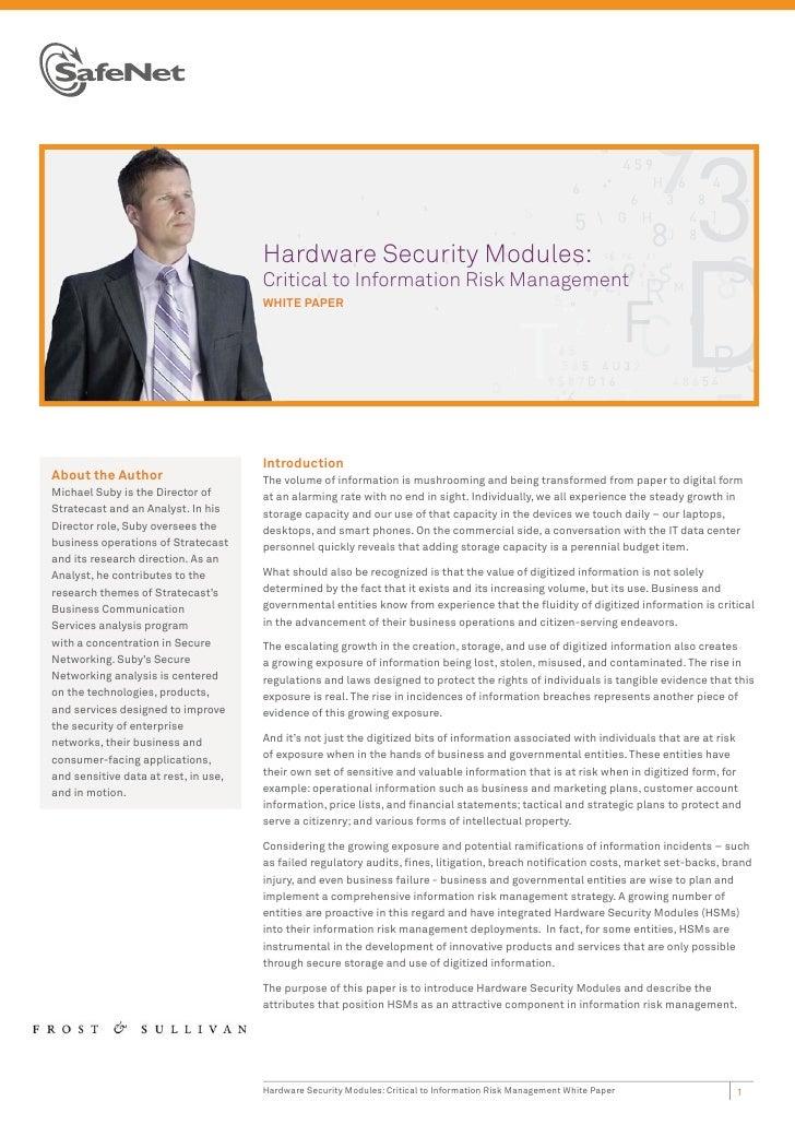 Ha                                      Hardware Security Modules:                                      Cri               ...
