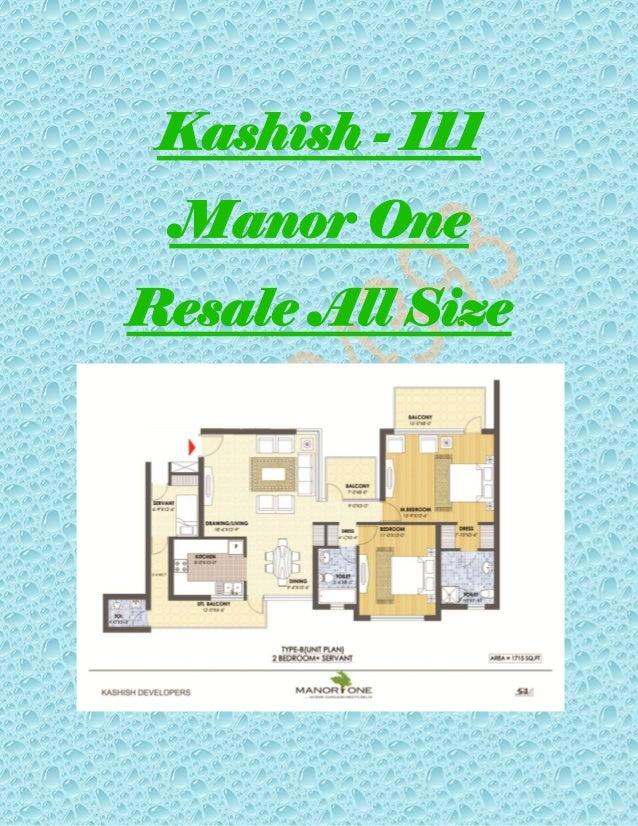 Kashish - 111 Manor One Resale All Size
