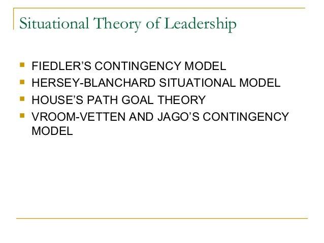Situational Leadership I of II (Hersey en/of Blanchard)