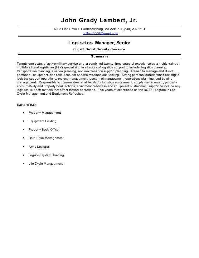 john lambert resume 2