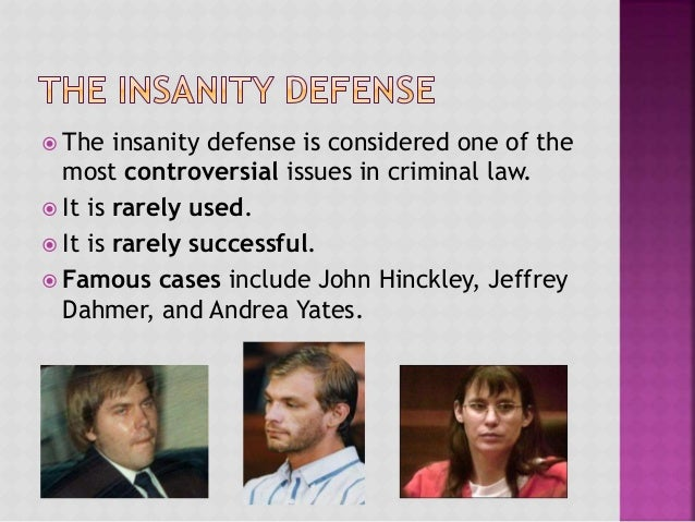 In US criminal trials how often is there a successful insanity defense?