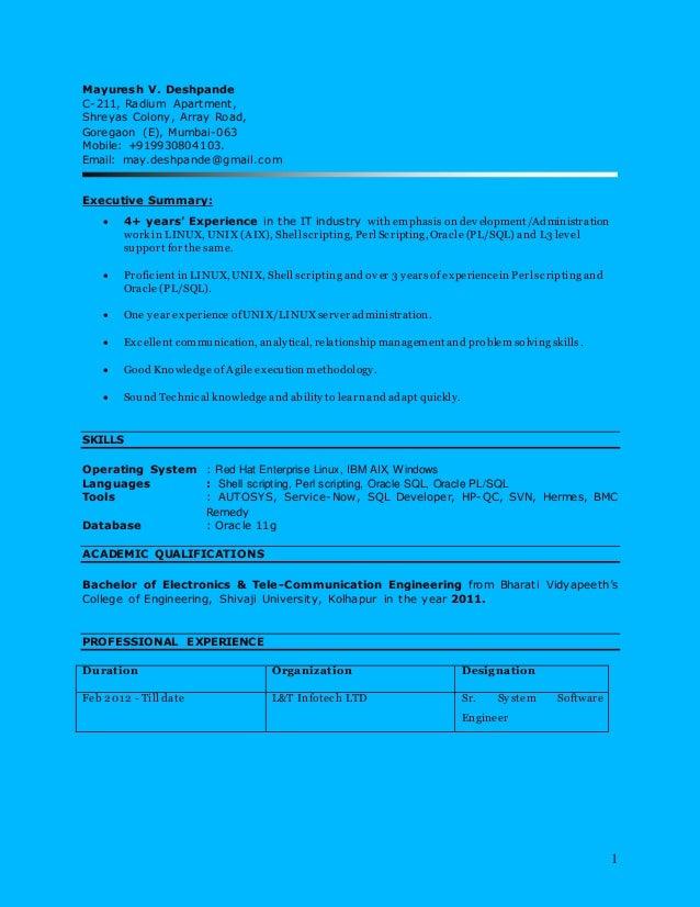 Resume_MayureshDeshpande
