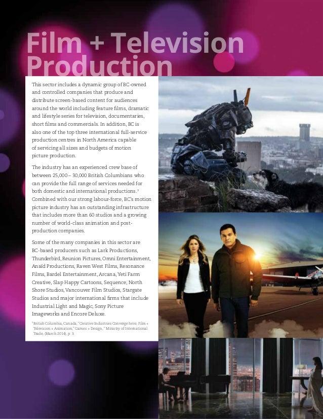 Creative Bc Activity Report 2014 15