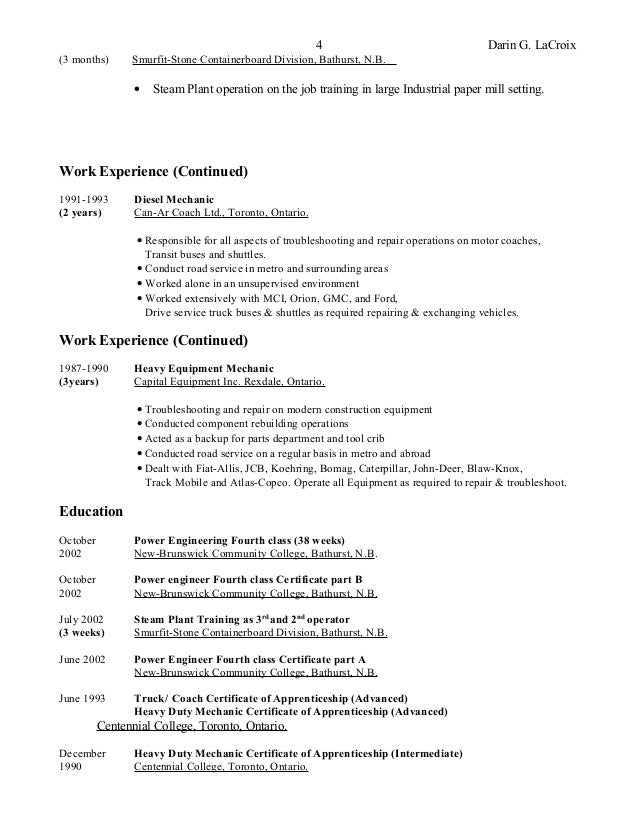 resume general qualifications