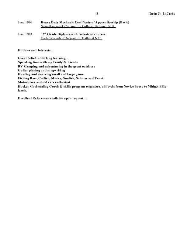 SlideShare  General Qualifications For Resume