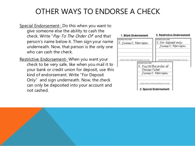 how to put a check into your bank account online