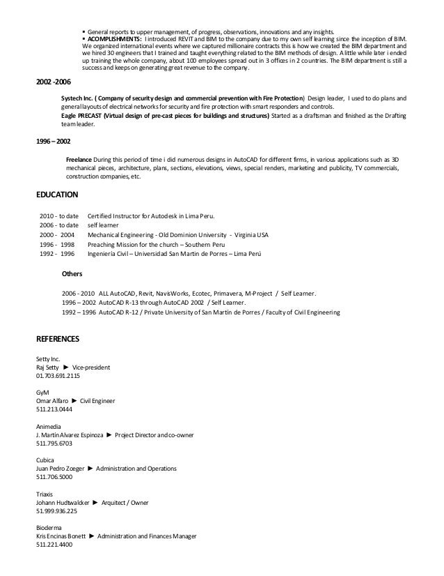Modern Bim Manager Lebenslauf Illustration - FORTSETZUNG ...