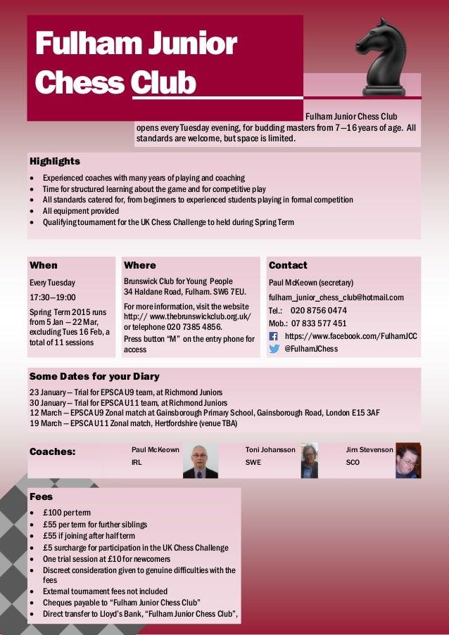 school club flyer template