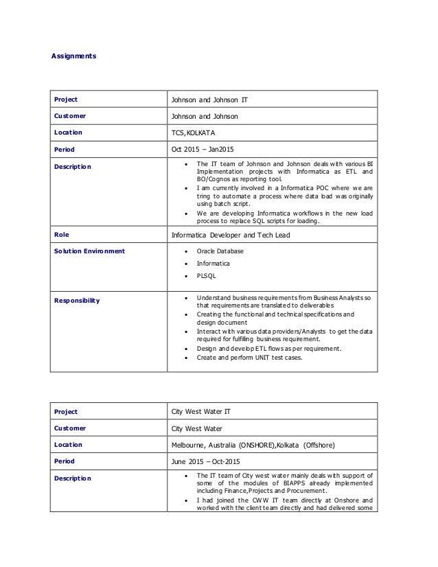 Pl Sql Developer Resume 7 Years Experience Bestsellerbookdb