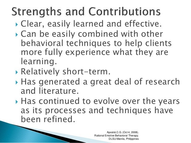 rational emotive behavioral therapy pdf