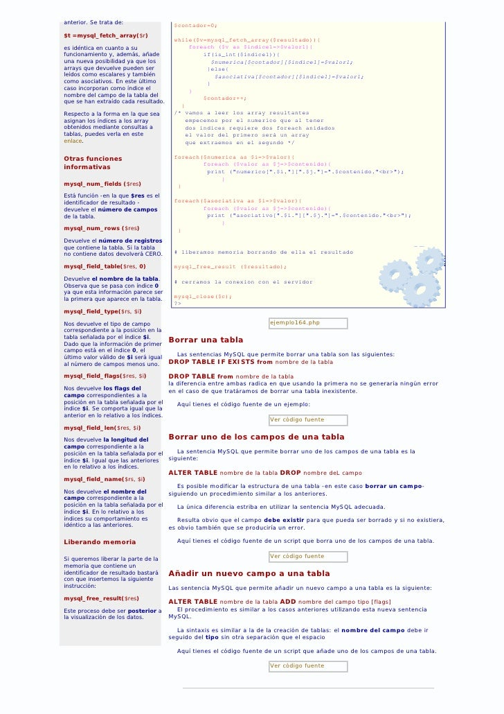 82 Php. Ver Y Modificar Estructuras Slide 2